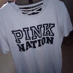 Vs pink top